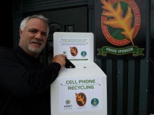 Gale Street Inn is now a drop-off for cell phone recycling.